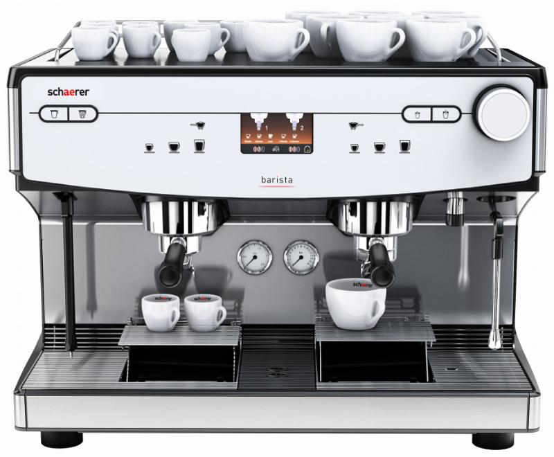 Schaerer Coffee Barista Front